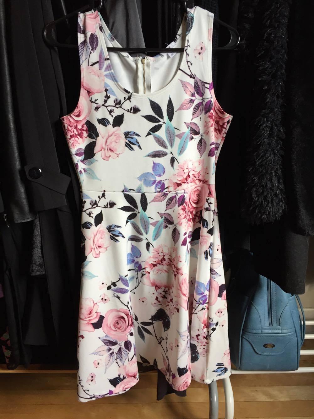 robe dress outfit fashion linge vetements mode ootd look fleurs