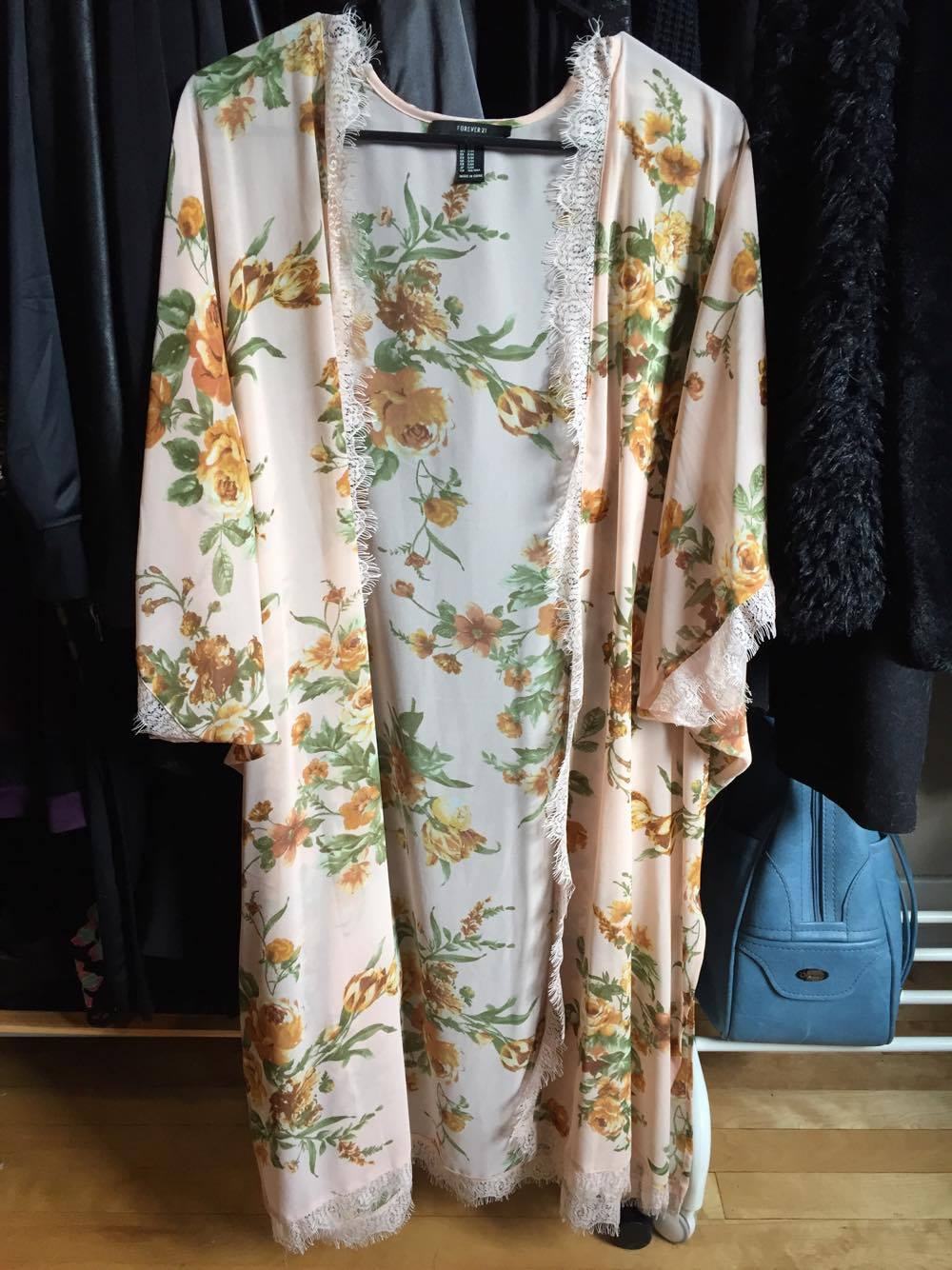 robe dress outfit fashion linge vetements mode ootd look fleurs