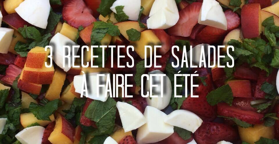 Folie Urbaine recette salade