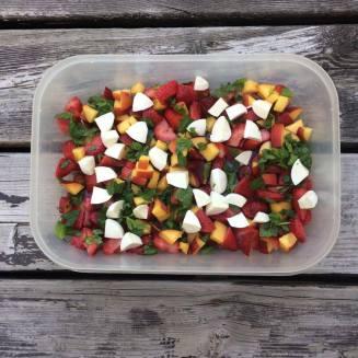 3 recettes salade été