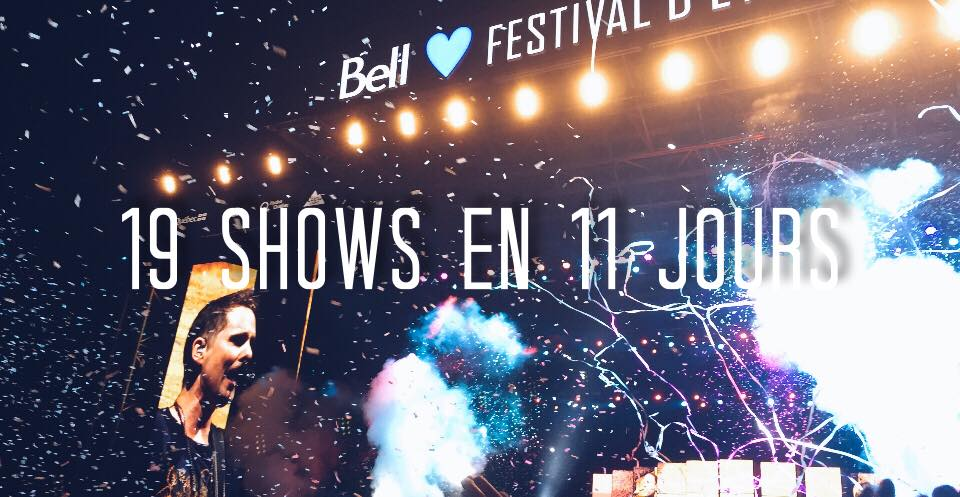 show spectacle festival quebec