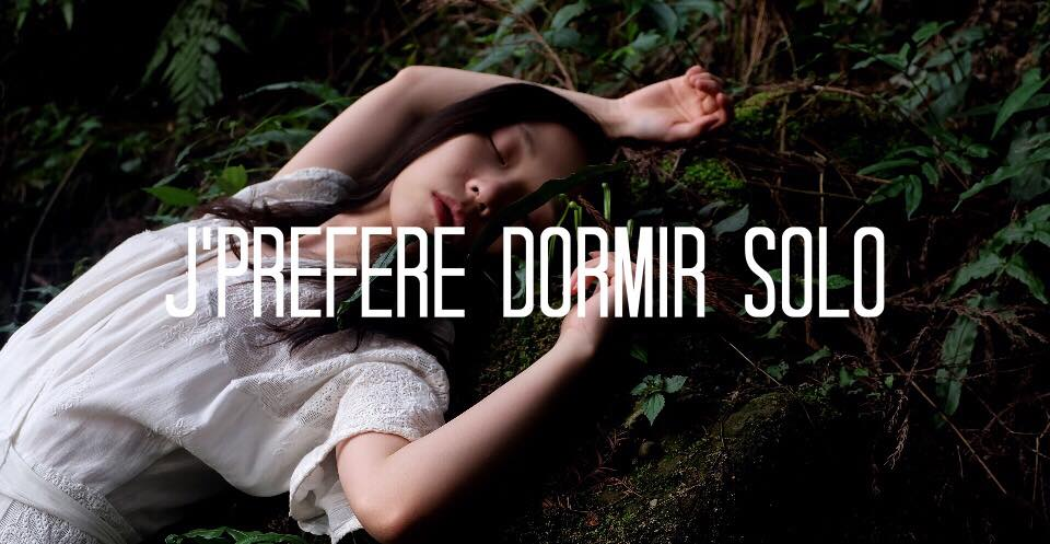 domir dodo solo celibat solitude sleep