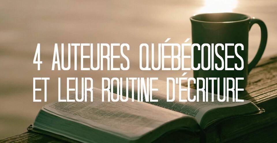 Folie Urbaine 4 auteures québécoises