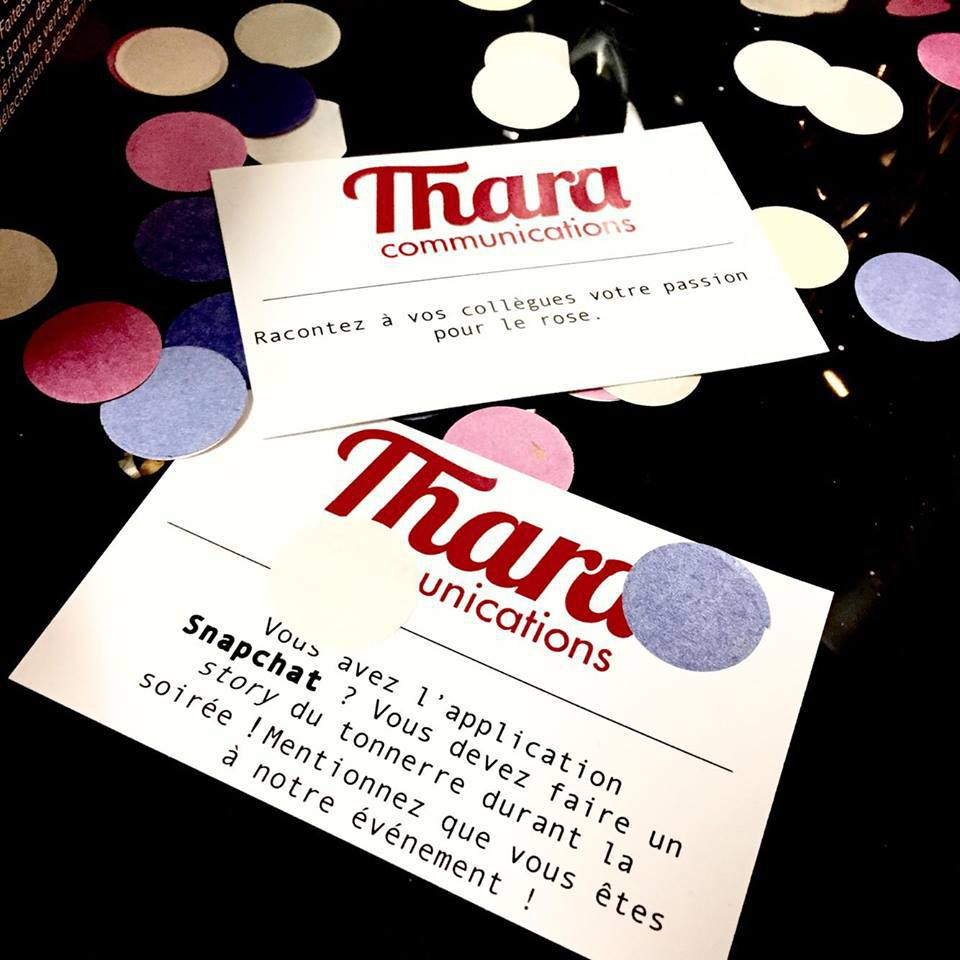 On parle des nouveaux bureaux de Thara Communications