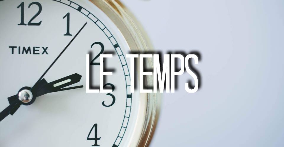 Ephemere le temps