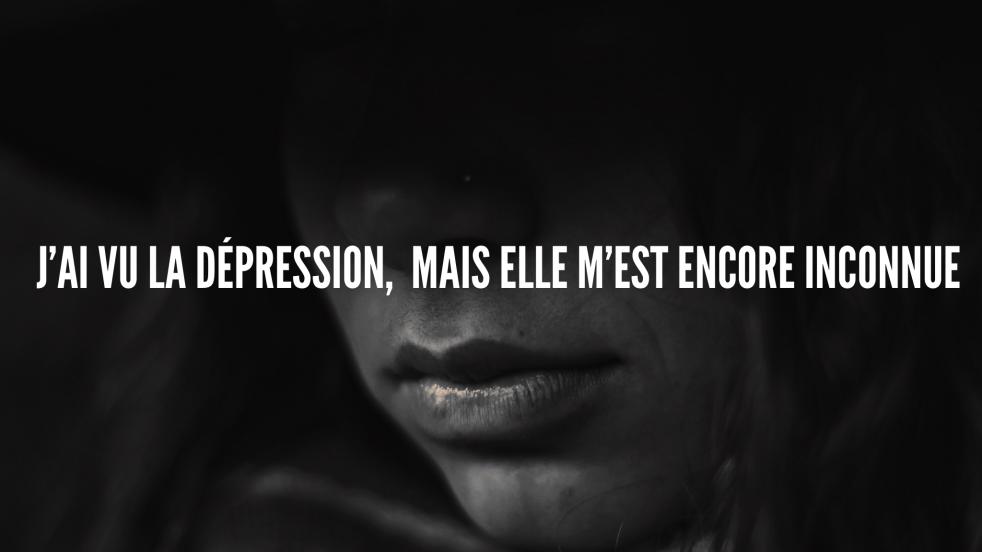 Jennifer qui parle de la dépression