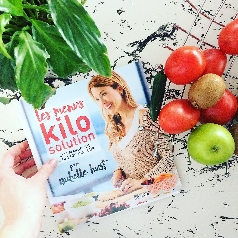 Jen essaie les recettes Kilo Solution