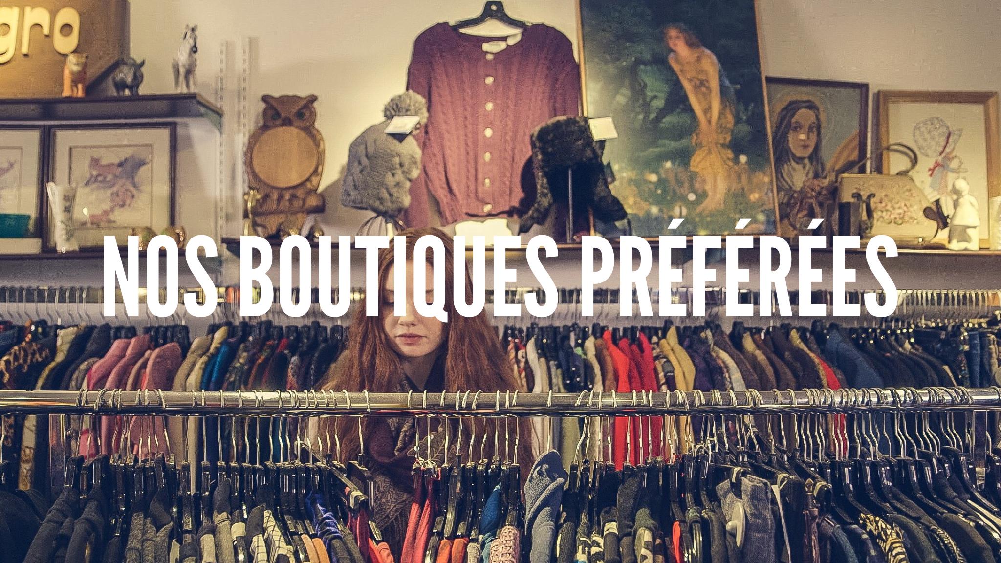 Article Equipe, nos boutiques pref