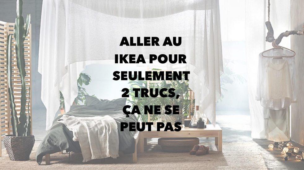 Se gâter au Ikea