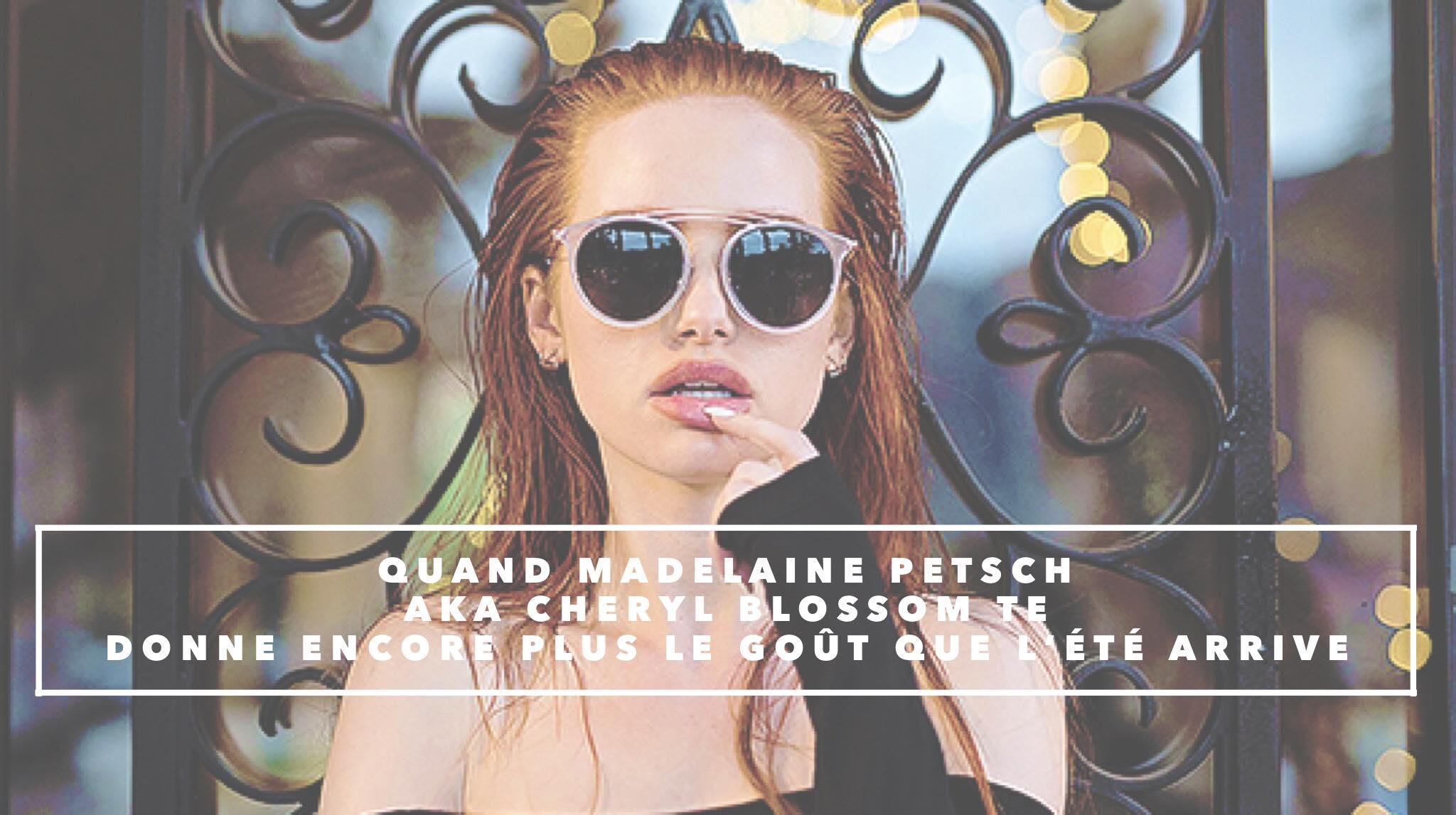 Des lunettes de soleil Privé Revaux très hot.