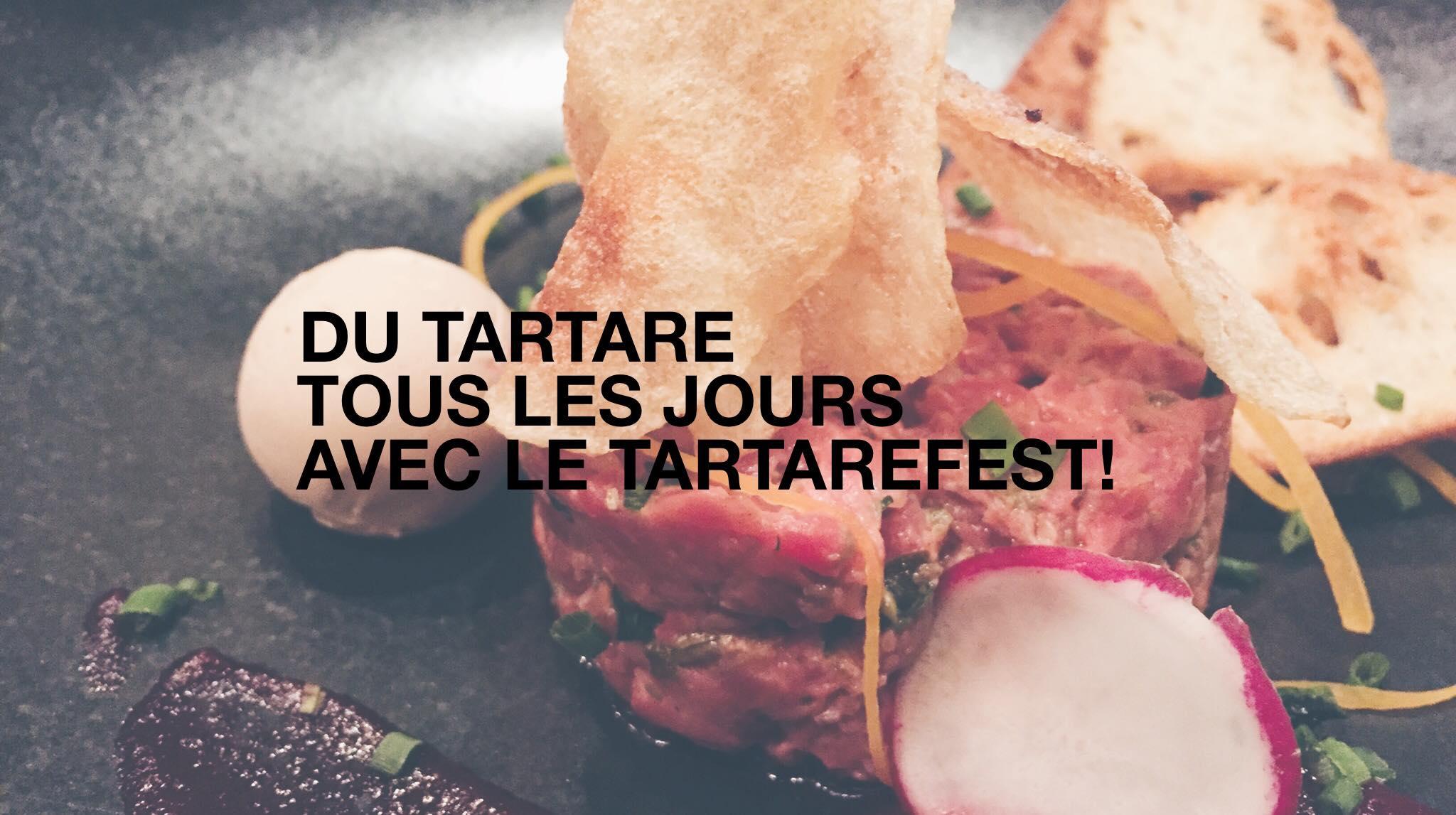 On déguste des tartares avec le Tartarefest de Restomania