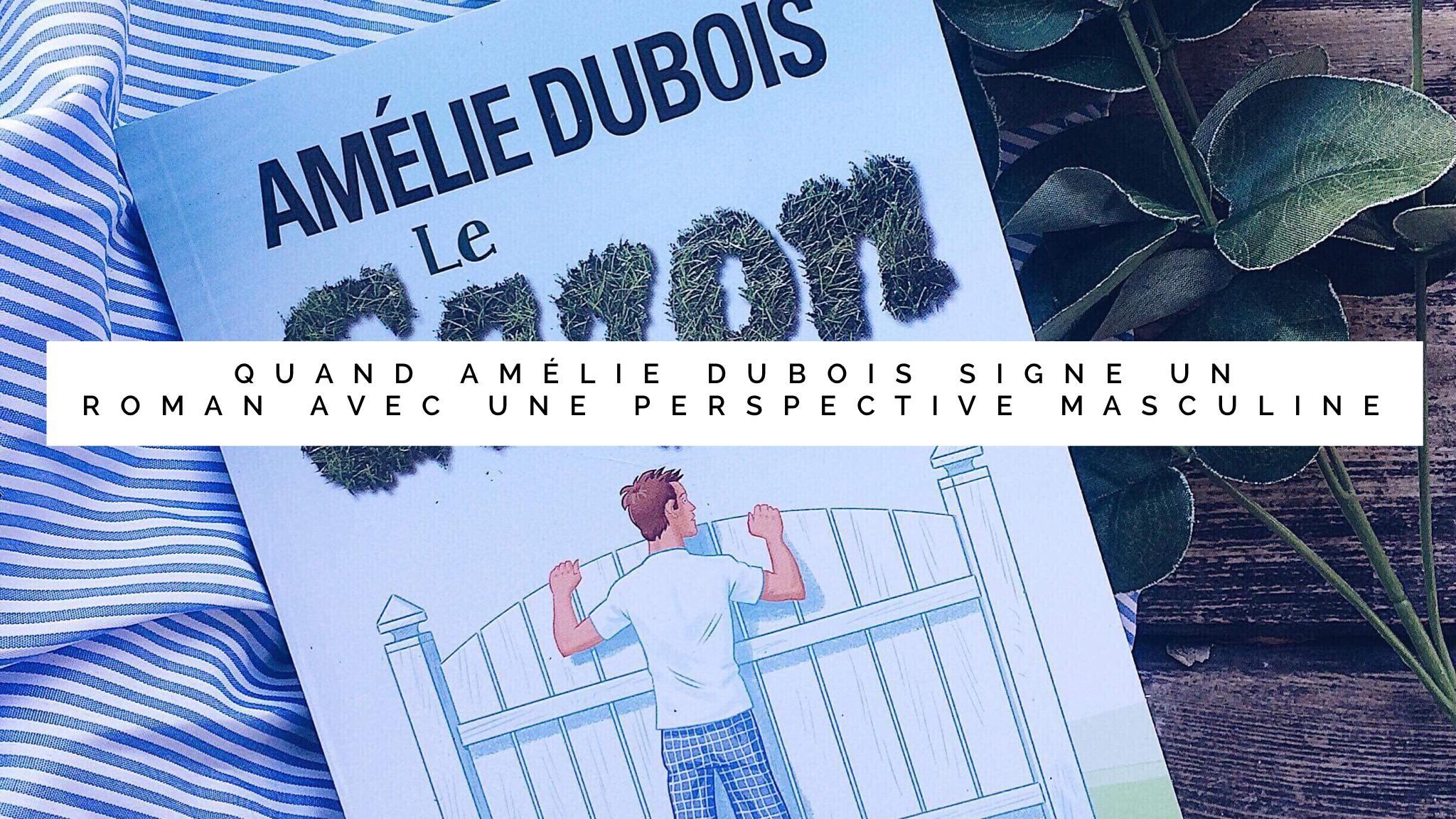 Jen parle du livre de Amélie Dubois