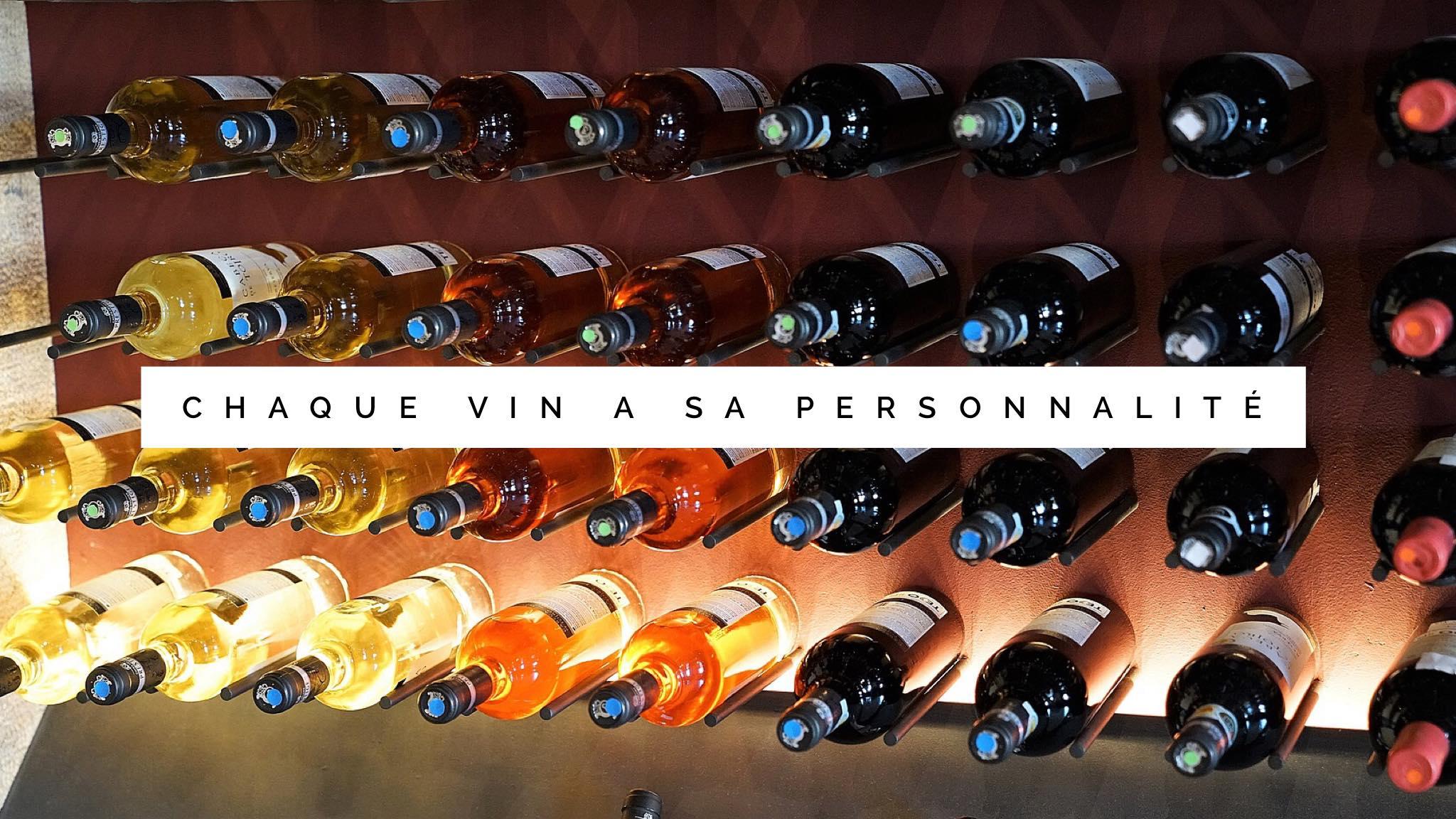 chaque vin a sa personnalité