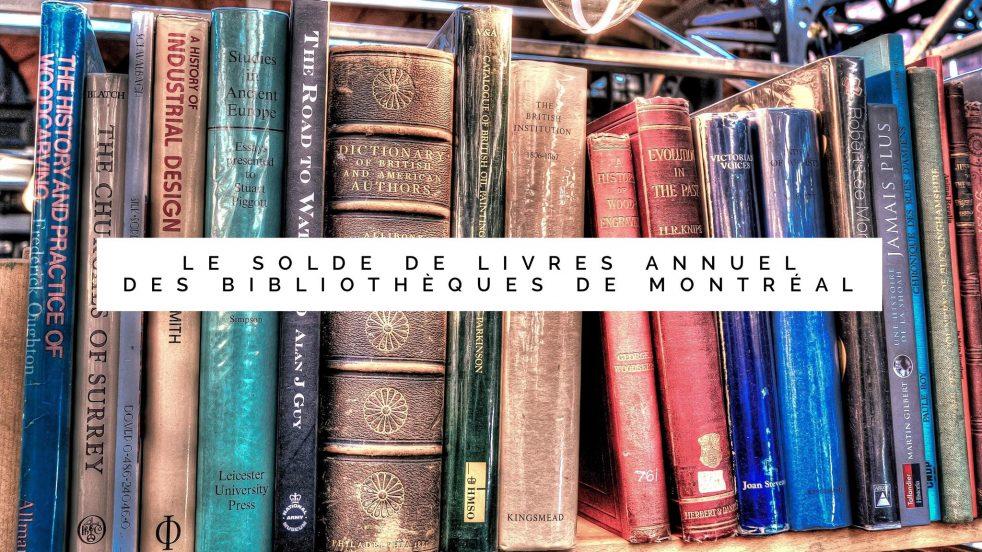 Chaque année, toutes les bibliothèques de l'île de Montréal procèdent à l'élagage de leurs livres les moins populaires, ou en moins bon état. La population peut également donner des livres durant les quelques semaines précédant l'évènement.