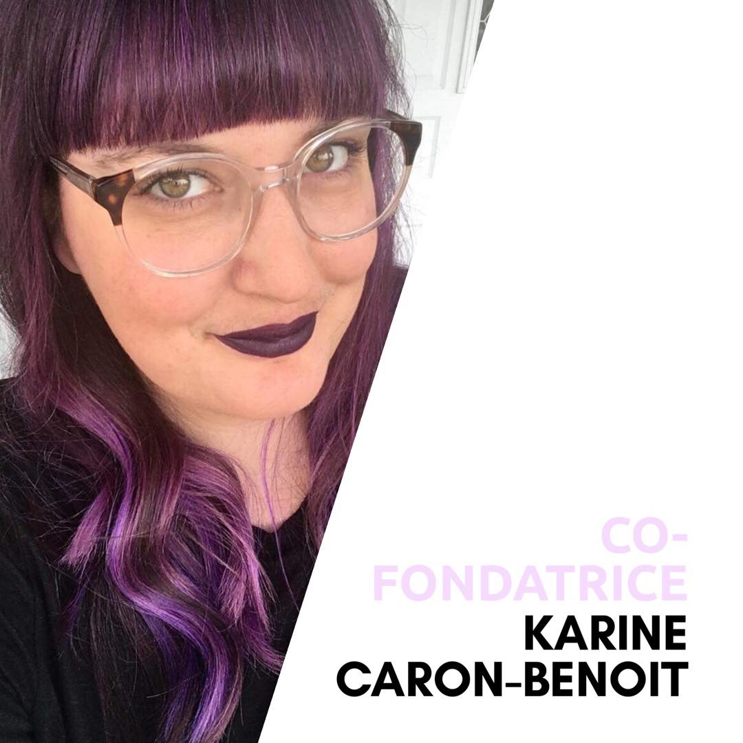 Photo de signature pour Karine Caron-Benoit.