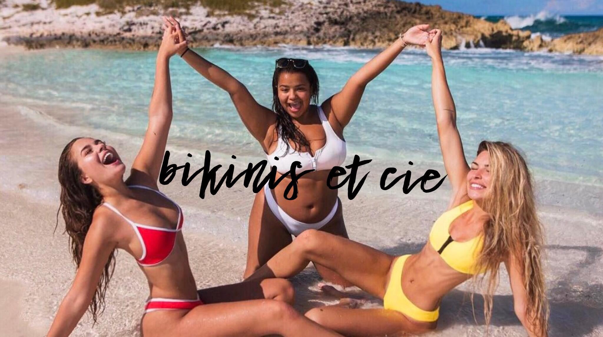 Suggestions de bikinis pour l'été.