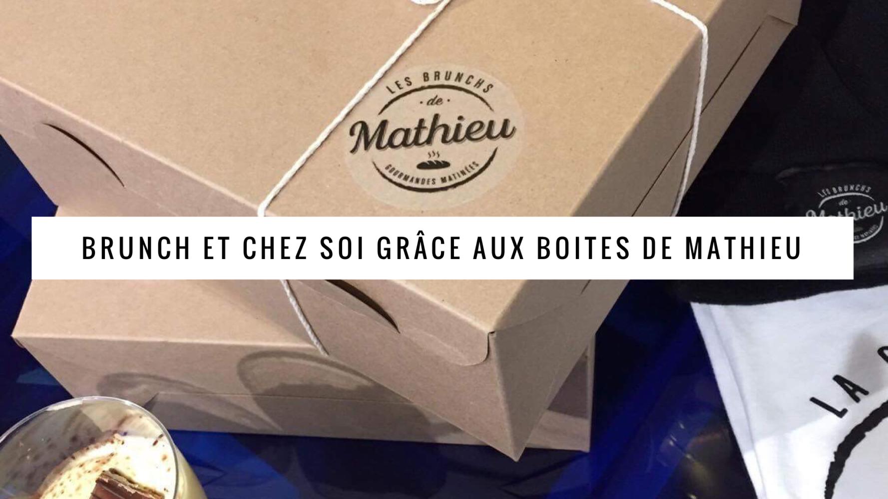 Jen parle des boites à brunch de Mathieu