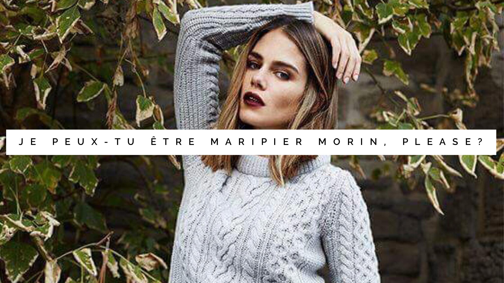 Jen parle de Maripier Morin
