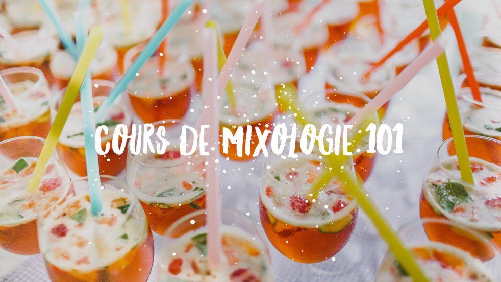 cours de mixologie 101