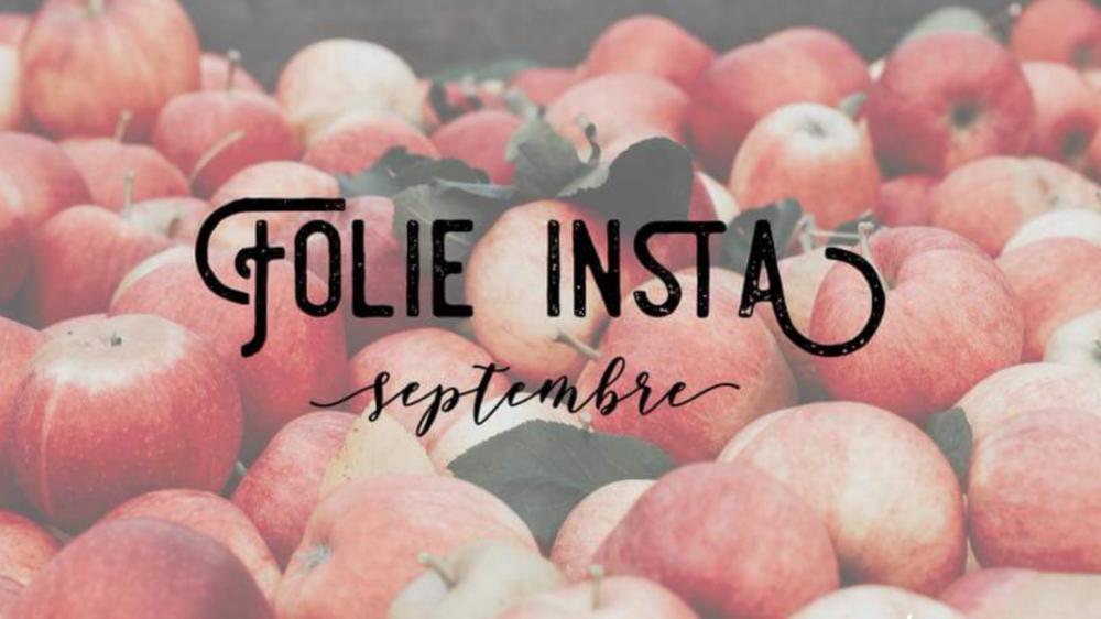 Coups de coeur Instagram de septembre