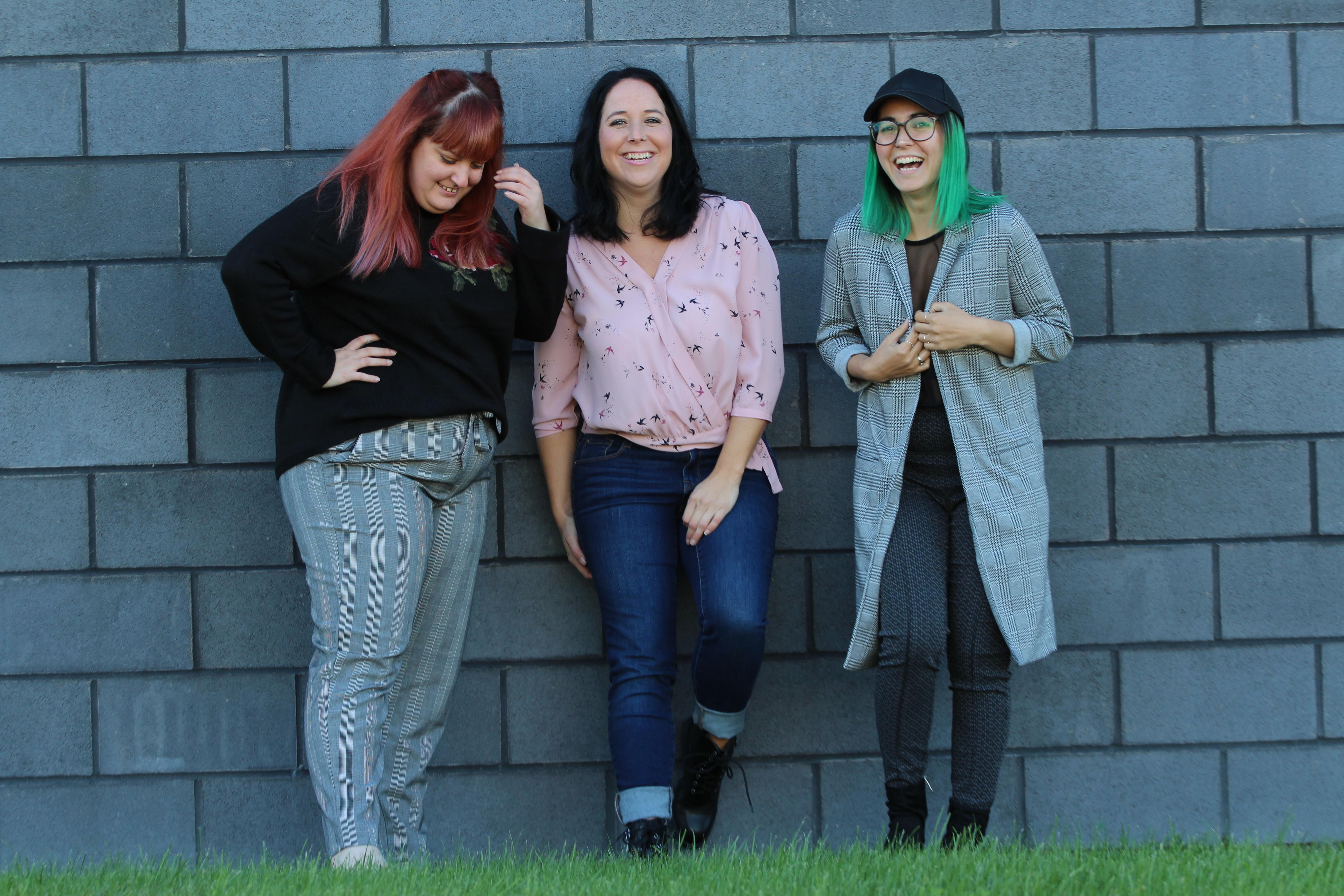 amitié des trois fondatrices de Folie urbaine
