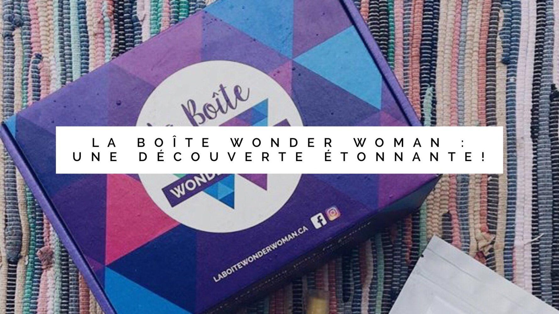 wonderwoman box