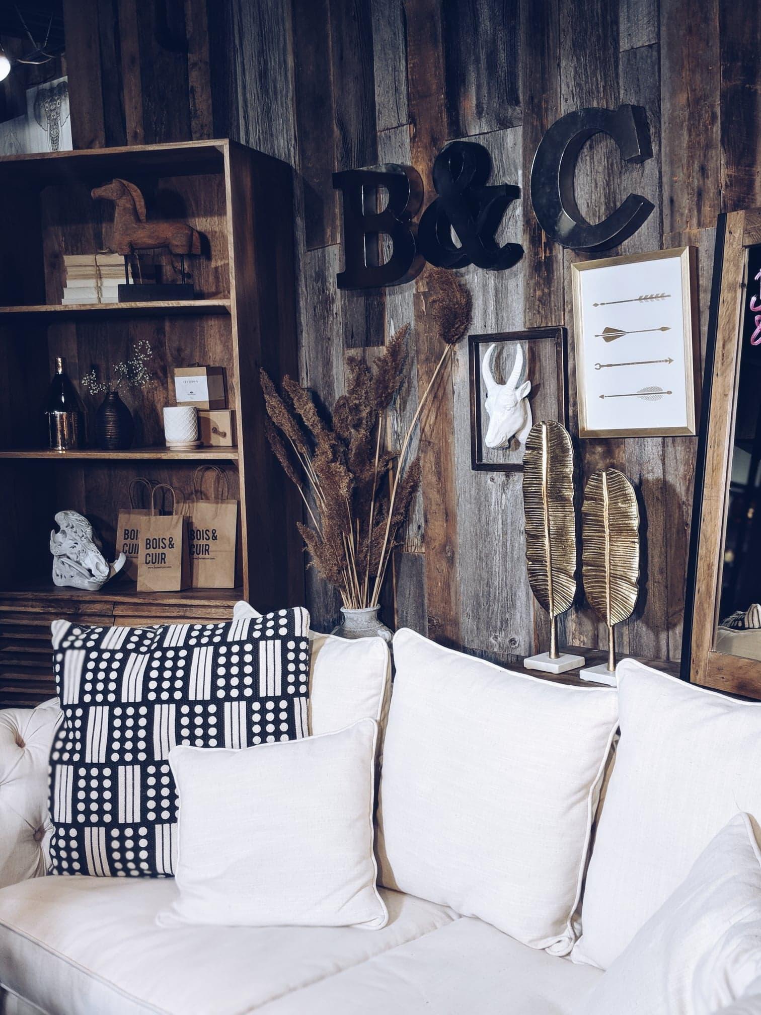 Ariane vous parle de sa visite à la nouvelle boutique Bois & Cuir