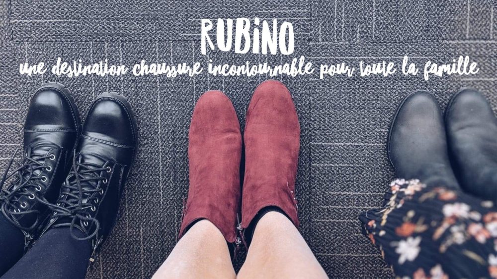 On vous parle des chaussures Rubino