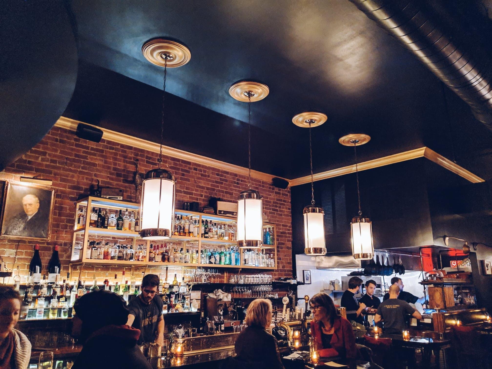 Bureau bar à tapas