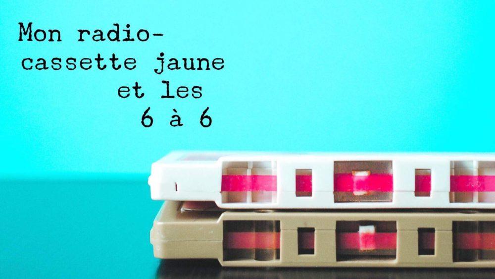 mon radio-cassette jaune