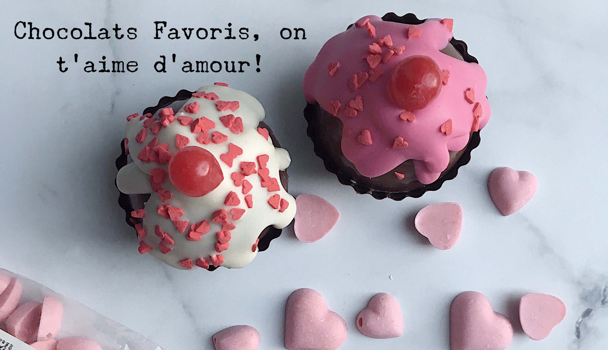 Chocolats Favoris on t'aime d'amour
