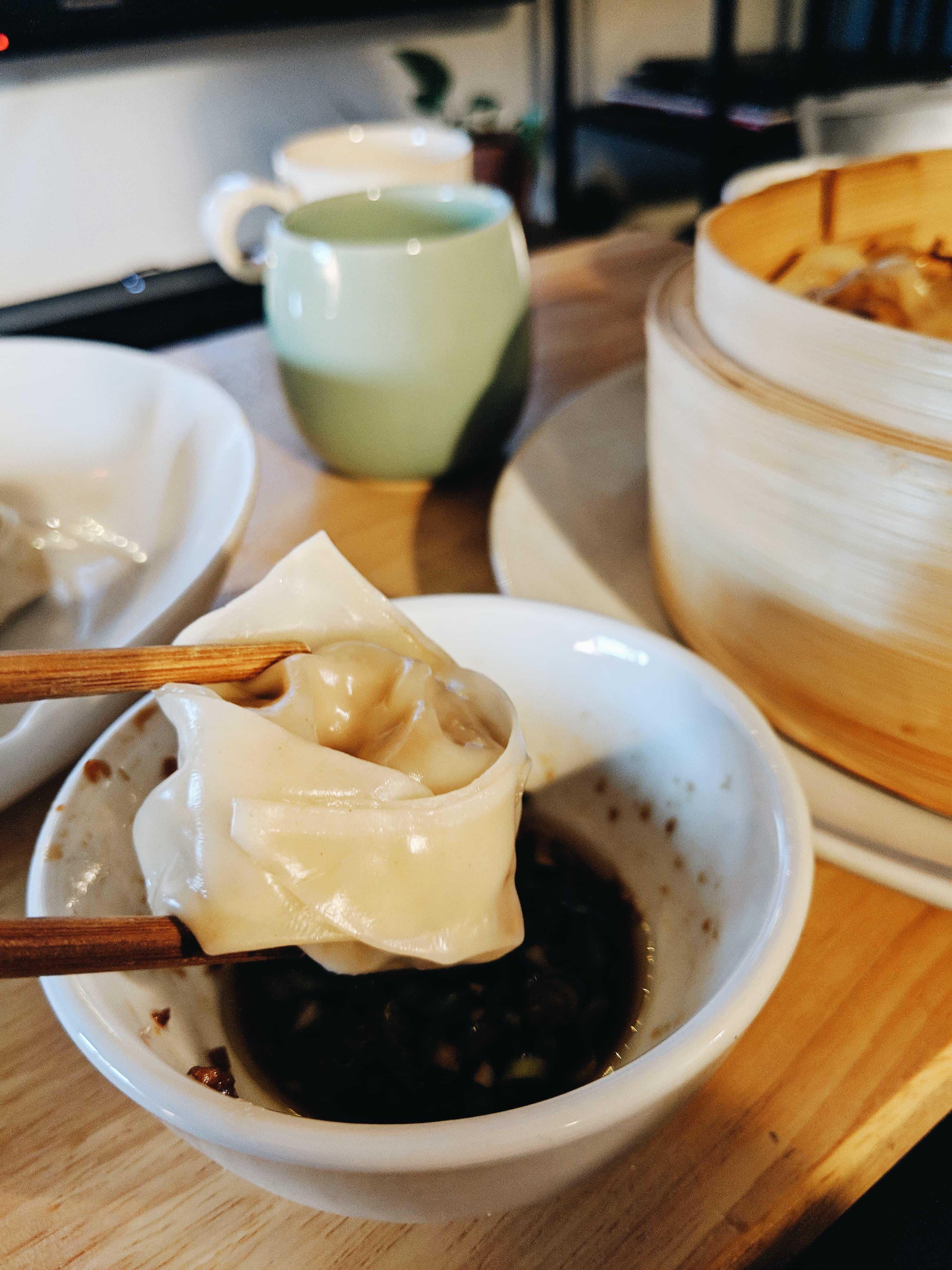 Le nouveau livre de dumplings de Geneviève Everell