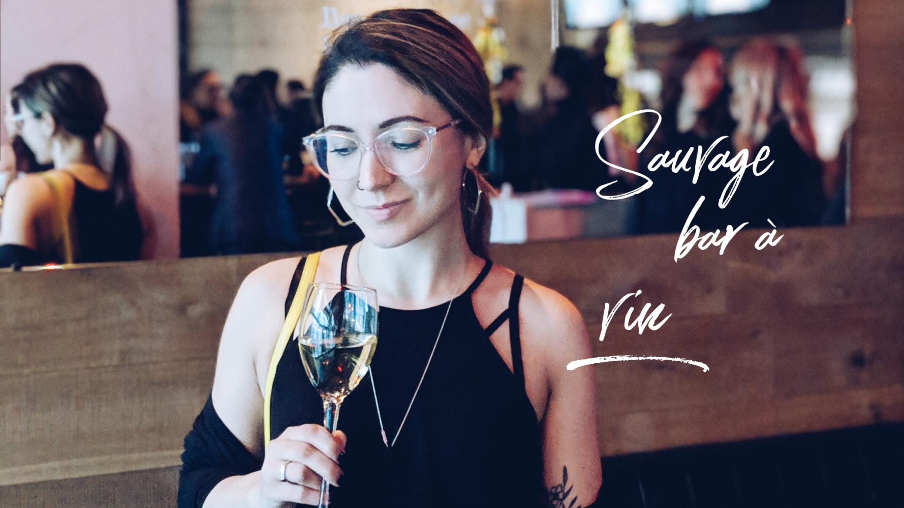 Ariane et Andrew sont allés à l'ouverture du Sauvage bar à vin au centre-ville.