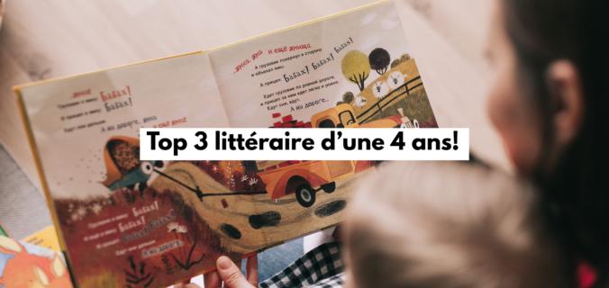 top 3 littéraire