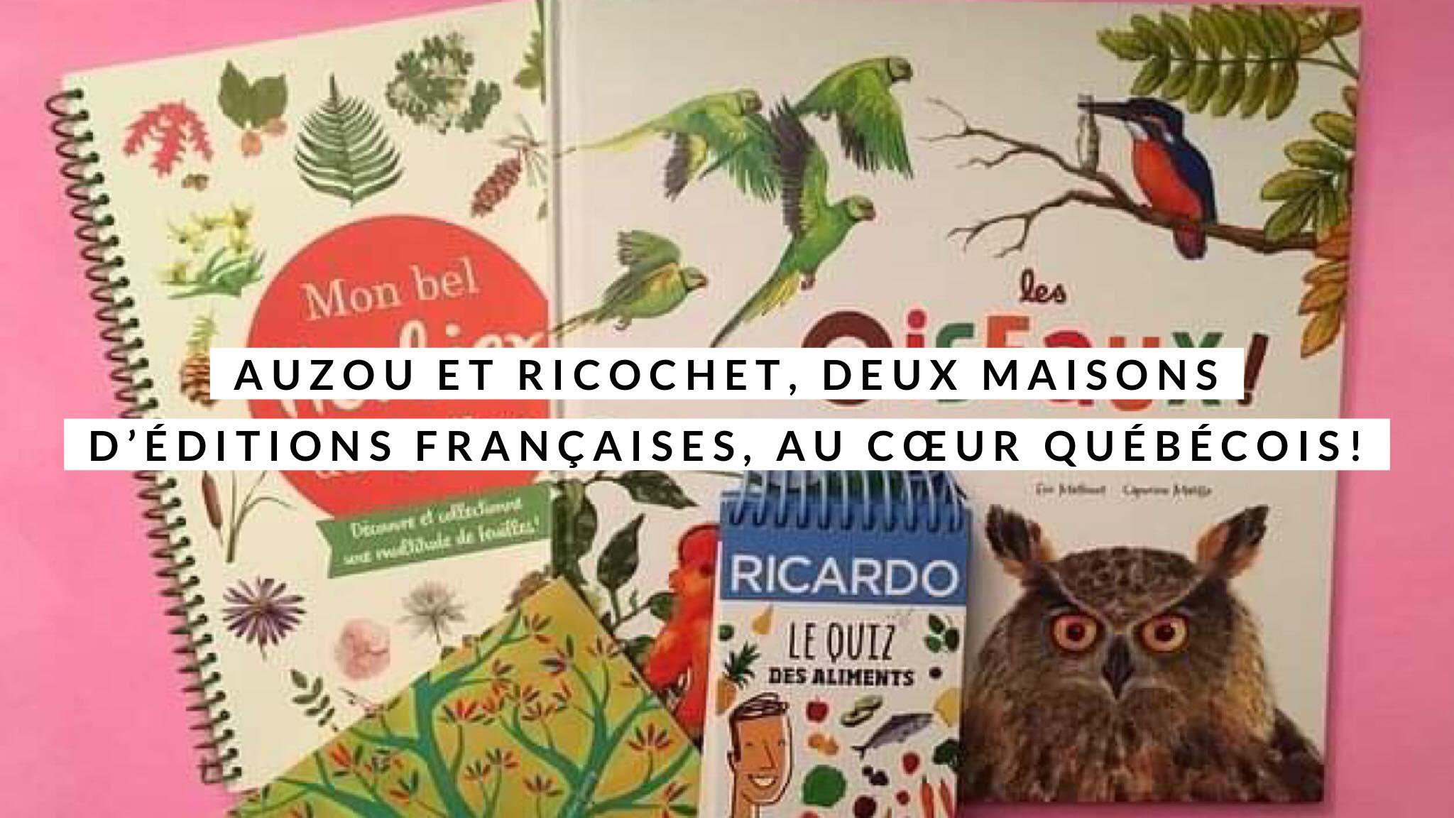 Auzou et Ricochet