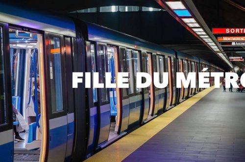 Fille du métro