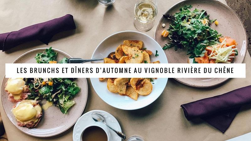 Brunch et dîners d'automne