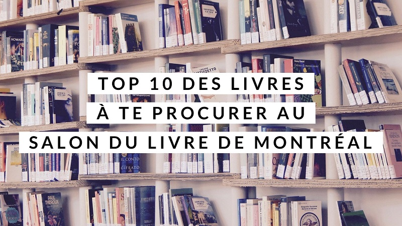 Top 10 salon du livre