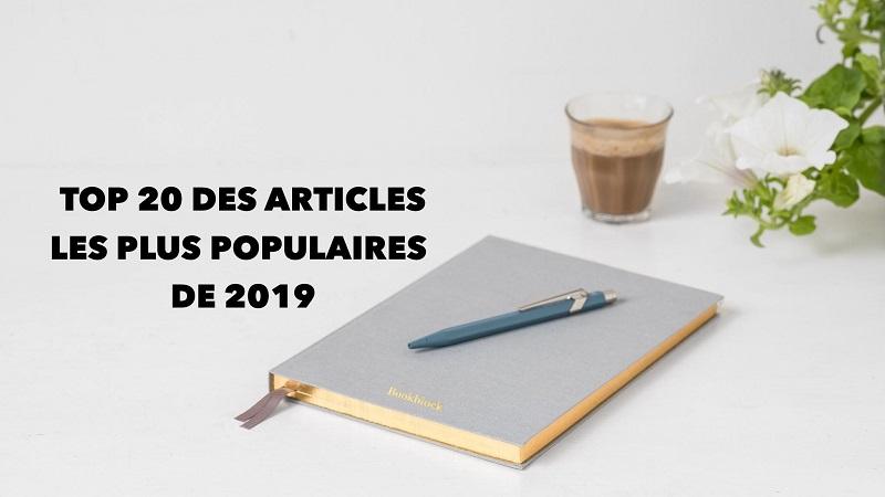 Top 20 des articles de 2019