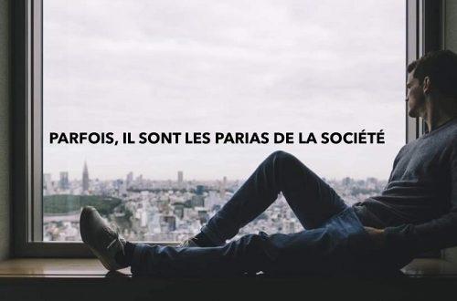 Parias de la société