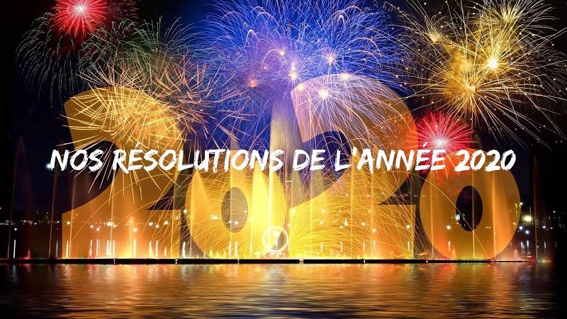 résolutions 2020