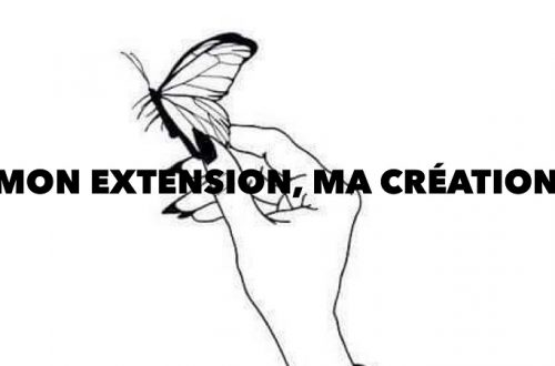 Mon extension ma création