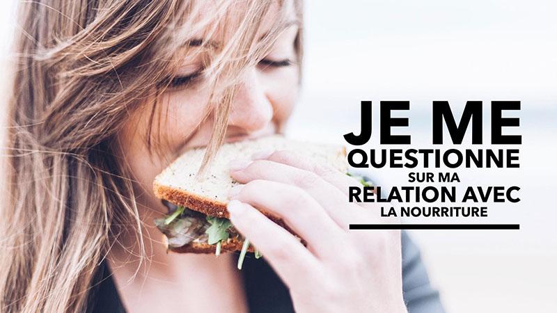 relation avec la nourriture