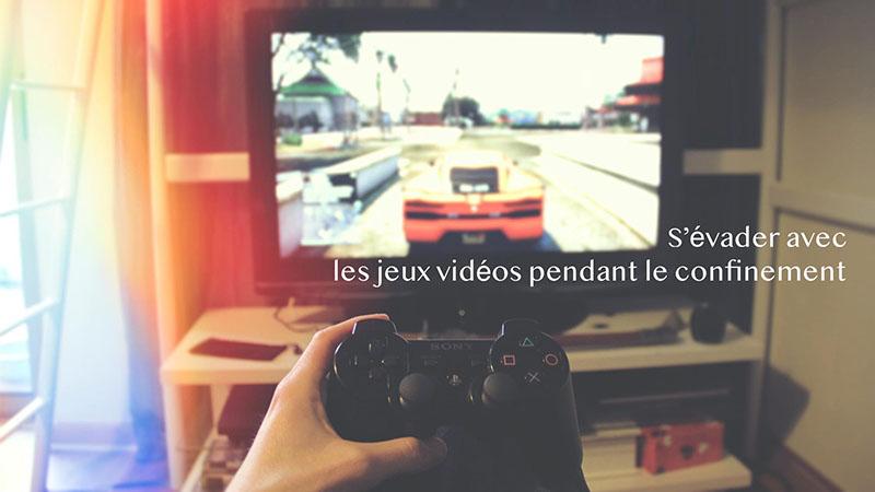 S'évader dans les jeux vidéos