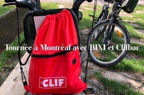 Le 23 août dernier, nos collaboratrices Escarpin rouge et Charline sont parties à l'aventure à Montréal avec des BIXI, avec un beau colis rempli de produits CLIFBAR. Voici leurs impressions :