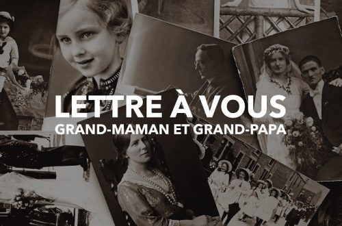 Lettre à mes grands-parents