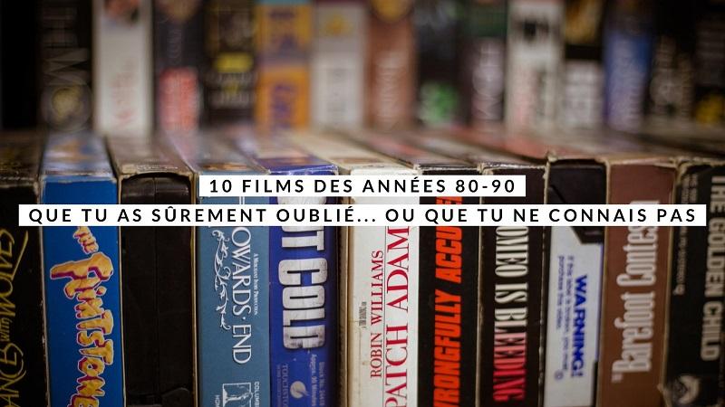 10 films années 80-90