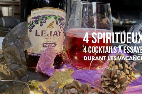 4 spiritueux