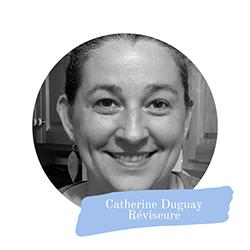 Catherine Duguay signature