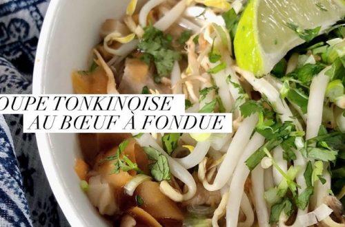 soupe tonkinoise